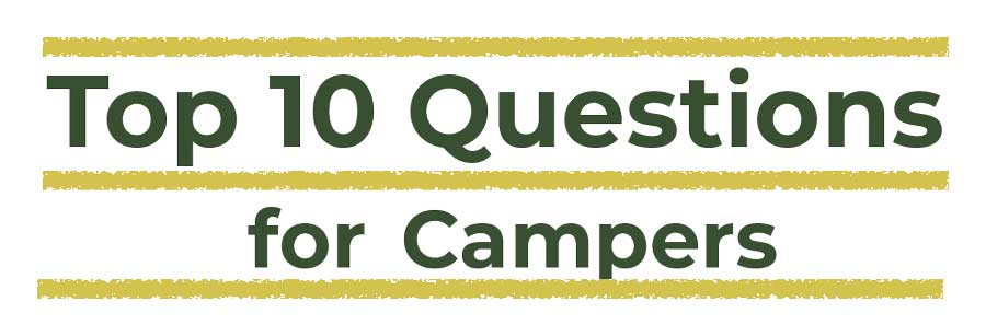 Top 10 Questions Parents Ask About Camp